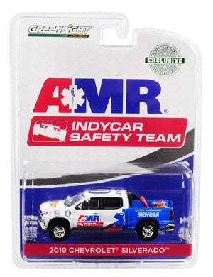 GreenLight 1/64 2019 Chevrolet Silverado - AMR IndyCar Safety Team with Safety Equipment in Truck Bed 30036