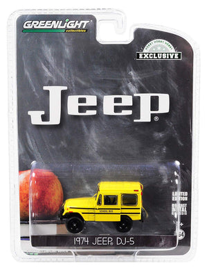 GreenLight 1/64 Jeep DJ-5 School Bus 30065