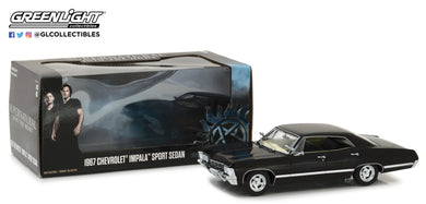GreenLight 1/24 Supernatural (2005-Current TV Series) - 1967 Chevrolet Impala Sport Sedan 84032