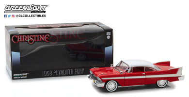 GreenLight 1/24 Christine (1983) - 1958 Plymouth Fury 84071