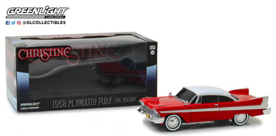 GreenLight 1/24 Christine (1983) - 1958 Plymouth Fury 84082