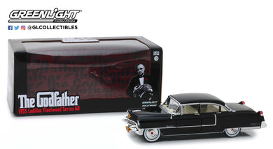 GreenLight 1/24 The Godfather (1972) - 1955 Cadillac Fleetwood Series 60 84091