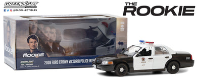 GreenLight 1:24 The Rookie (2018-Current TV Series) - 2008 Ford Crown Victoria Police Interceptor - Los Angeles Police Department (LAPD) 84111