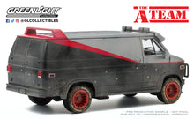 GreenLight 1:24 The A-Team (1983-87 TV Series) - 1983 GMC Vandura (Weathered Version with Bullet Holes) 84112