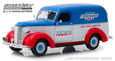 GreenLight 1/24 Running on Empty - 1939 Chevrolet Panel Truck - Yenko Sales and Service 85041