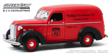 GreenLight 1:24 Running on Empty - 1939 Chevrolet Panel Truck - Phillips 66 Phillips Petroleum Co. Geological Dept 85051