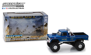 GreenLight 1/43 Bigfoot #1 The Original Monster Truck (1979) - 1974 Ford F-250 Monster Truck 86097