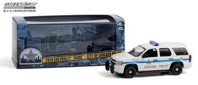 GreenLight 1:43 2010 Chevrolet Tahoe - City of Chicago Police Department 86183