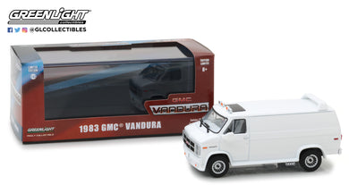 GreenLight 1/43 1983 GMC Vandura Custom - White 86326