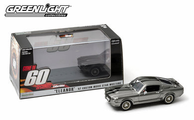GreenLight 1/43 Gone in Sixty Seconds (2000) - 1967 Ford Mustang