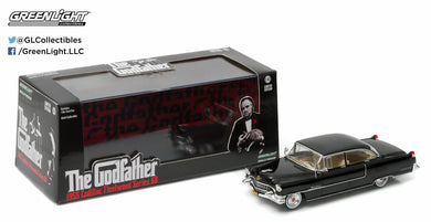 GreenLight 1:43 Hollywood - The Godfather (1972) - 1955 Cadillac Fleetwood Series 60 Special 86492