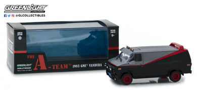 GreenLight 1/43 The A-Team (1983-87 TV Series) - 1983 GMC Vandura 86515