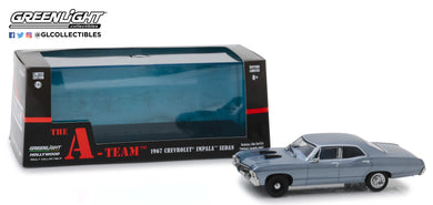 GreenLight 1/43 The A-Team (1983-87 TV Series) - 1967 Chevrolet Impala Sedan 86527