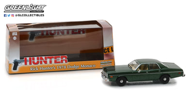 GreenLight 1/43 Hunter (1984-91 TV Series) - 1978 Dodge Monaco 86537