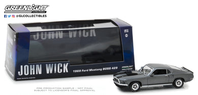 GreenLight 1/43 John Wick (2014) - 1969 Ford Mustang BOSS 429 86540