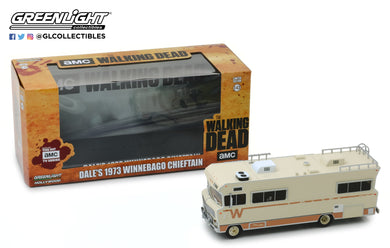 GreenLight 1/43 The Walking Dead (2010-Current TV Series) - Dale s 1973 Winnebago Chieftain 86543