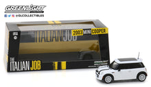 GreenLight 1:43 The Italian Job (2003) - 2003 Mini Cooper - White with Black Stripes 86548
