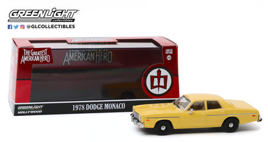 GreenLight 1:43 The Greatest American Hero (1981-83 TV Series) - 1978 Dodge Monaco 86555