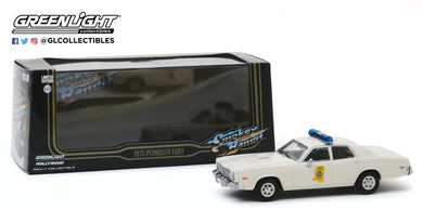 GreenLight 1:43 Smokey and the Bandit (1977) - 1975 Plymouth Fury Mississippi Highway Patrol 86557