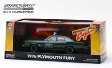 GreenLight 1:43 Beverly Hills Cop (1984) - 1976 Plymouth Fury Checker Cab 069 WO. 3-7000 86566