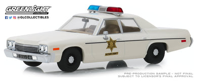 GreenLight 1:43 1975 Dodge Monaco - Hazzard County Sheriff 86567