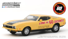GreenLight 1:43 Gone in Sixty Seconds (1974) - 1973 Ford Mustang Mach 1 Eleanor (Post-Filming Tribute Edition) 86571