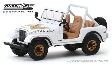GreenLight 1:43 1979 Jeep CJ-7 Golden Eagle Dixie 86572