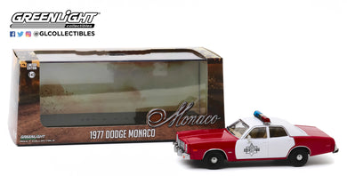 GreenLight 1:43 1977 Dodge Monaco - Finchburg County Sheriff 86573