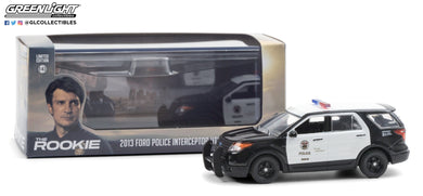 GreenLight 1:43 The Rookie (2018-Current TV Series) - 2013 Ford Police Interceptor Utility - Los Angeles Police Department (LAPD) 86587