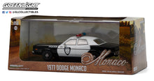 GreenLight 1:43 1977 Dodge Monaco - Police Department City of Roseville 86588