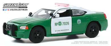 GreenLight 1:43 2008 Dodge Charger Police - Carabineros de Chile 86596