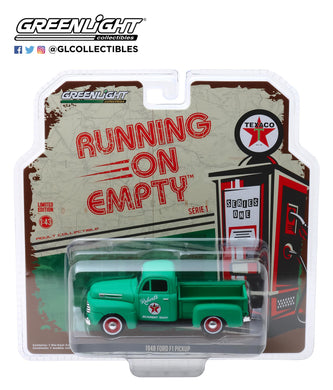 GreenLight 1:43 Running on Empty Series 1 - 1948 Ford F1 Pickup Texaco 87010-A