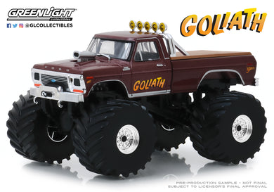 GreenLight 1:43 Kings of Crunch - Goliath - 1979 Ford F-250 Monster Truck (with 66-Inch Tires) 88023