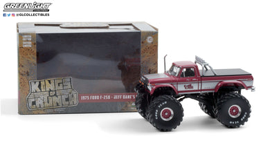 GreenLight 1:43 Kings of Crunch - King Kong - 1975 Ford F-250 Monster Truck (with 66-Inch Tires) 88032