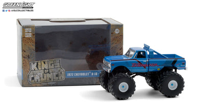 GreenLight 1:43 Kings of Crunch - ExTerminator - 1972 Chevrolet K-10 Monster (with 66-Inch Tires) 88033