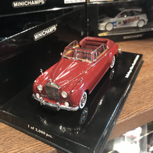 MINICHAMPS 1/43 ROLLS ROYCE SILVER CLOUD II CABRIOLET 1960 RED 436134930