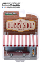 GreenLight 1:64 The Hobby Shop Series 8 - 1976 Dodge Coronet with Woman in Dress 97080-C