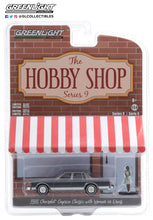 GreenLight 1:64 The Hobby Shop Series 9 - 1981 Chevrolet Caprice Classic with Woman in Dress 97090-D