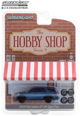 GreenLight 1:64 The Hobby Shop Series 9 - 2020 Ford Explorer ST with Spare Tires 97090-F
