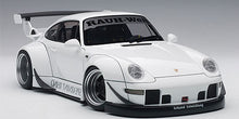 AUTOART 1/18 RWB 993 (WHITE/GUN GREY WHEELS) 78150