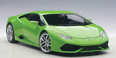 AUTOART 1/18 LAMBORGHINI HURACAN LP610-4 (VERDE MANTIS 4-LAYER/GREEN METALLIC) 74605