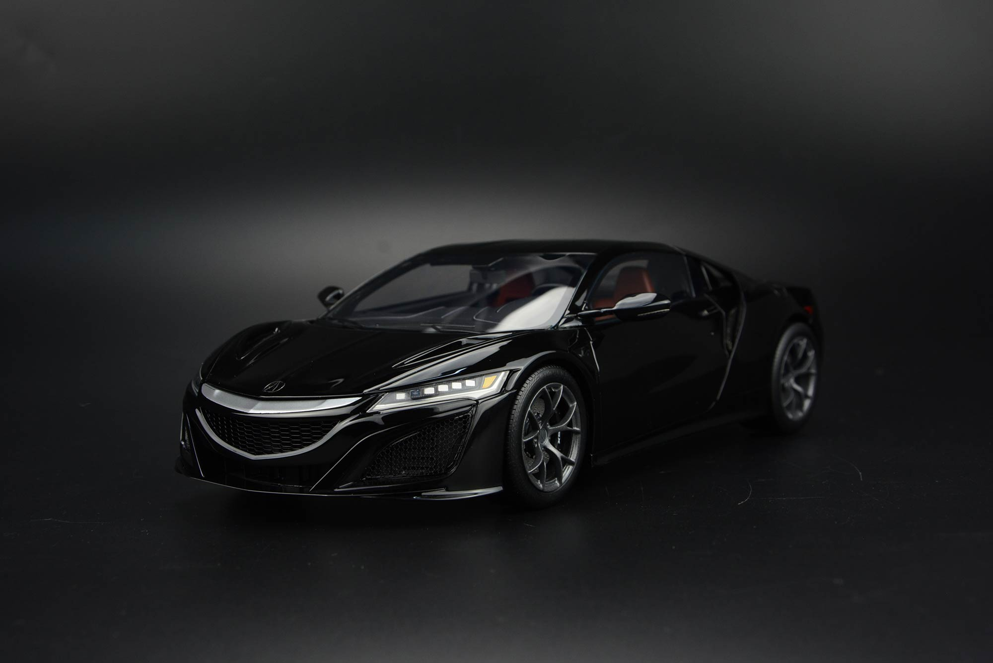 Frontiart AvanStyle 1/18 Acura NSX Black AS005-04