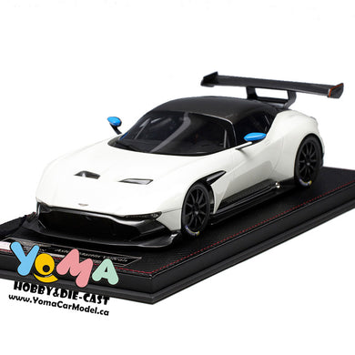 Frontiart AvanStyle 1/18 Aston Martin Vulcan White AS014-02