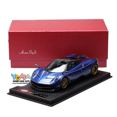 Frontiart AvanStyle 1/18 Pagani Huayra blue AS016-40
