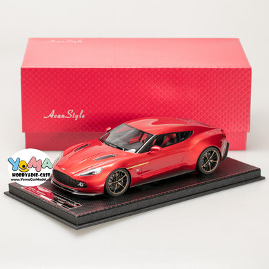 Frontiart AvanStyle 1:18 Aston Martin Zagato Red AS020-77
