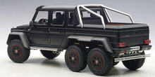 AUTOART 1/18 MERCEDES-BENZ G63 AMG 6x6 (MATT BLACK) 76302
