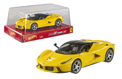 Hot Wheels 1/24 Ferrari Laferrari F70 Hybrid Yellow BLY63