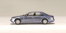 AUTOART 1/43 MAYBACH 57 SWB (COTED AZUR BLUE MIDDLE / COTED'AZUR BLUE BRIGHT METALLIC) 56151