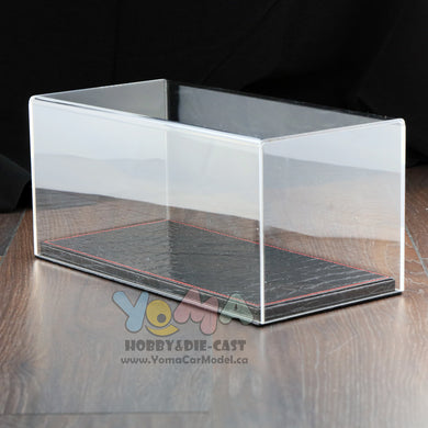 1/18 32cm*16cm*14cm Display box Show Case and Base Style Crocodile DB-32-BKSC-P