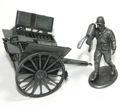 Atlas 1/32 World War I French carry soldier and artillery tank shells EA2595002